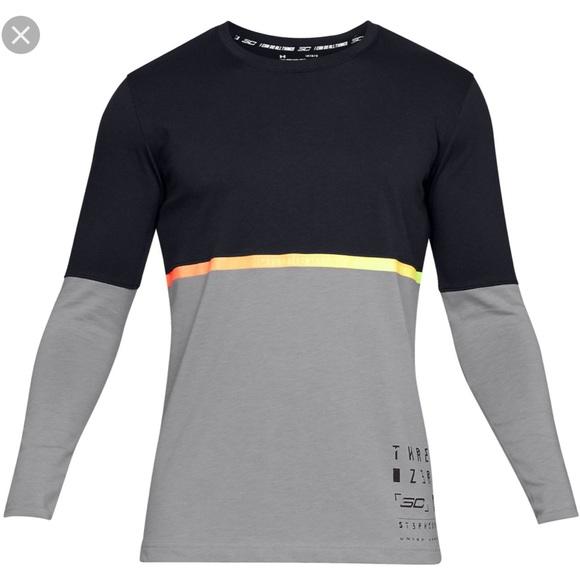 low priced 30aa1 76e86 Under Armour Steph Curry SC30 Long Sleeve Shirt NWT